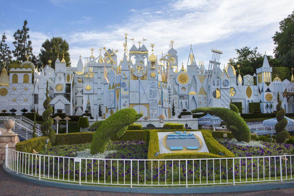 it's a small world at Disneyland
