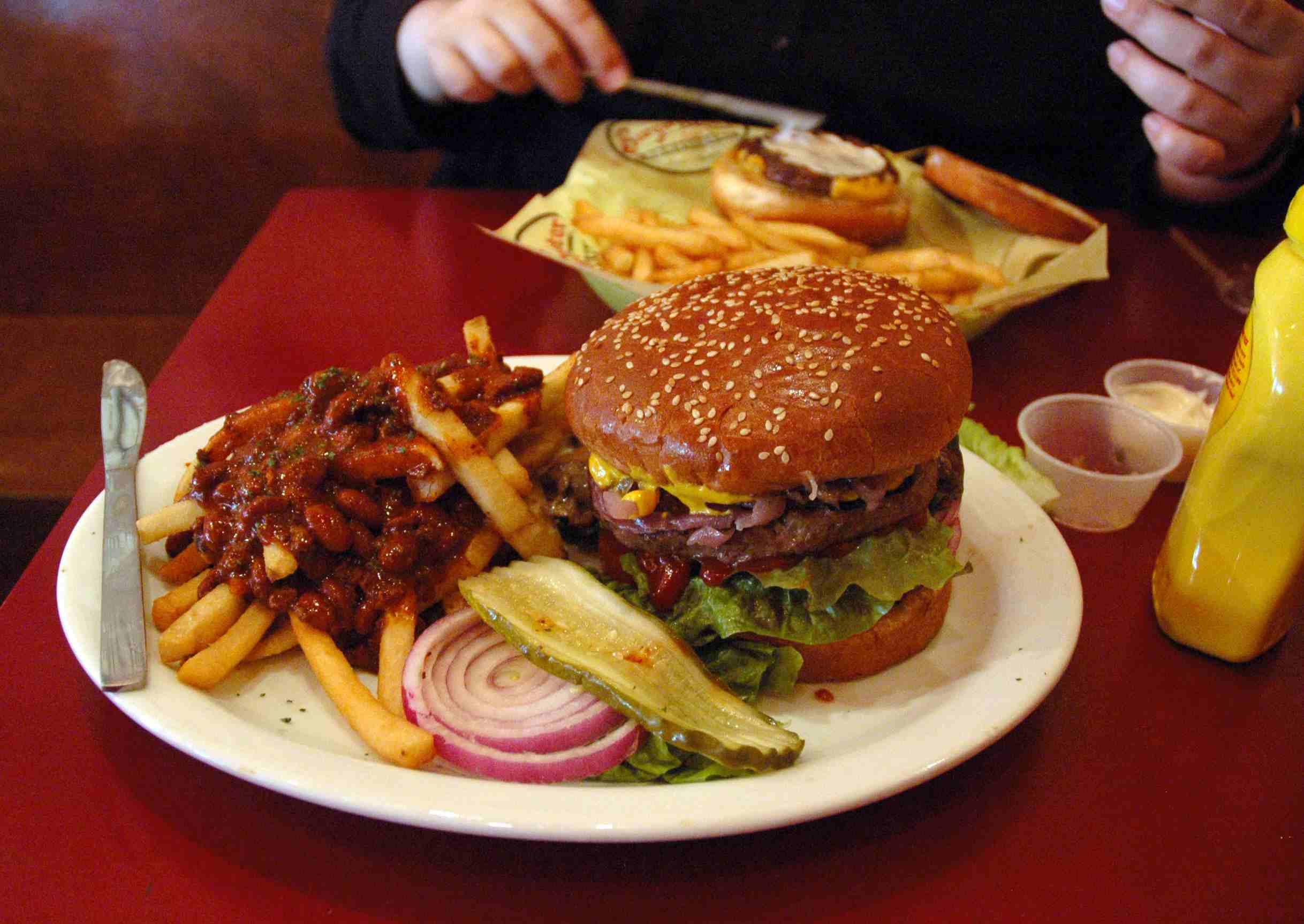 Burgermeister burger & fries