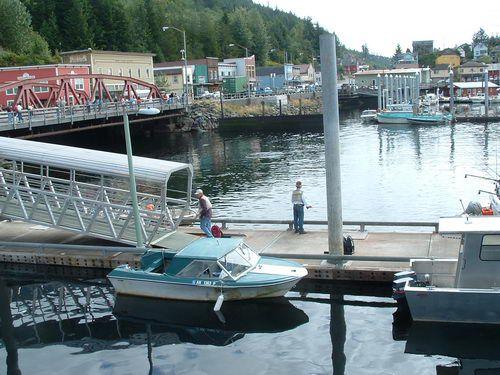 Thomas Basin in Ketchikan, Alaska
