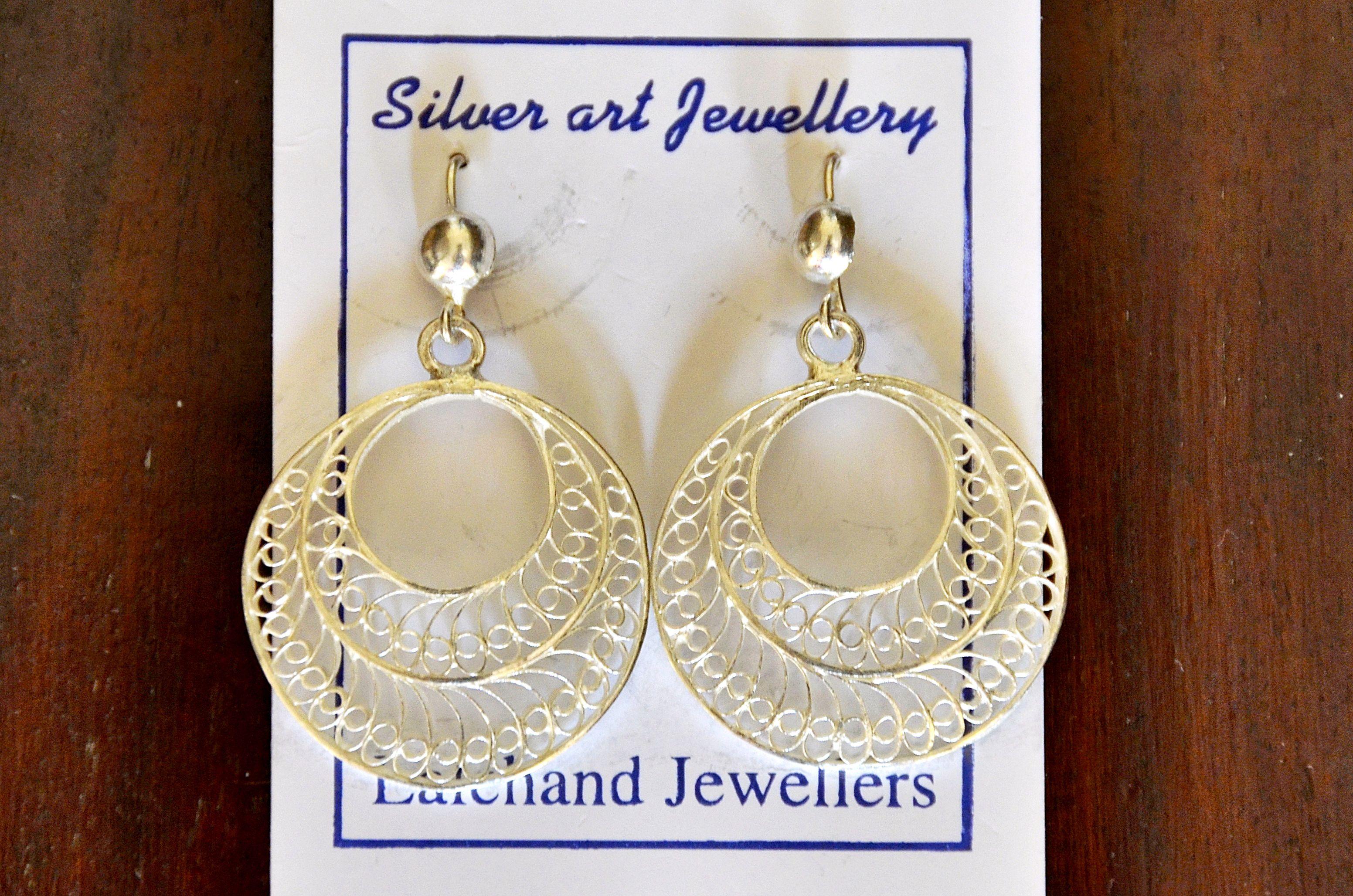 Filigrana de plata de Lalchand Jewelers, Bhubaneshwar