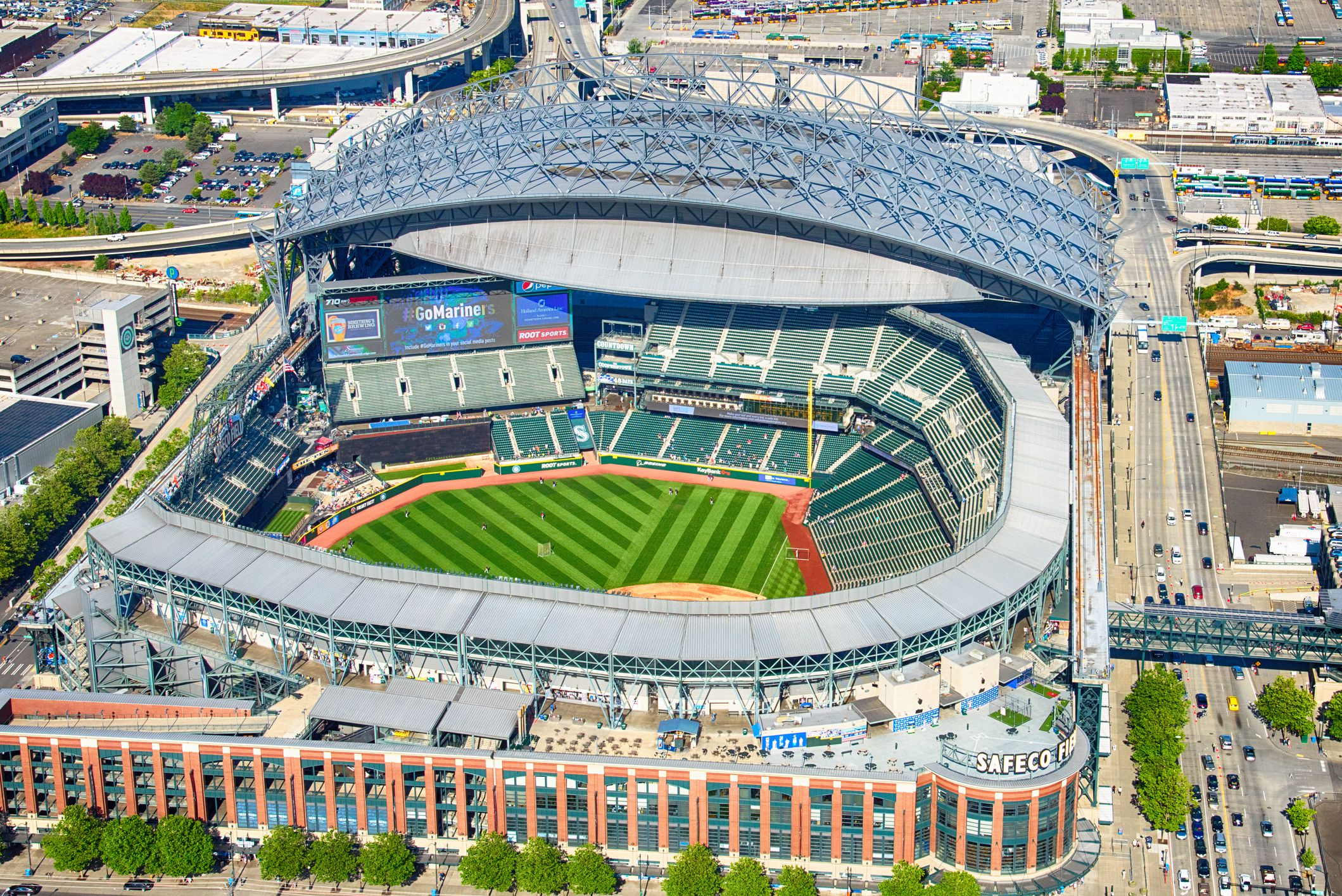 T-Mobile park, formerly safeco field