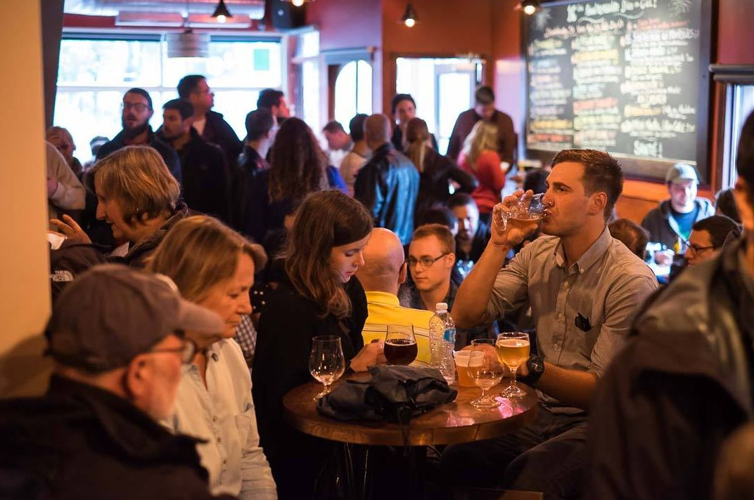 Montreal's hottest brewpubs include Dieu du Ciel.