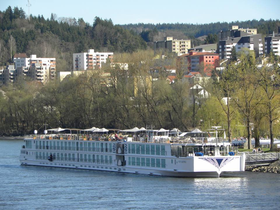 Uniworld Boutique River Cruises' River Beatrice in Passau, Germany