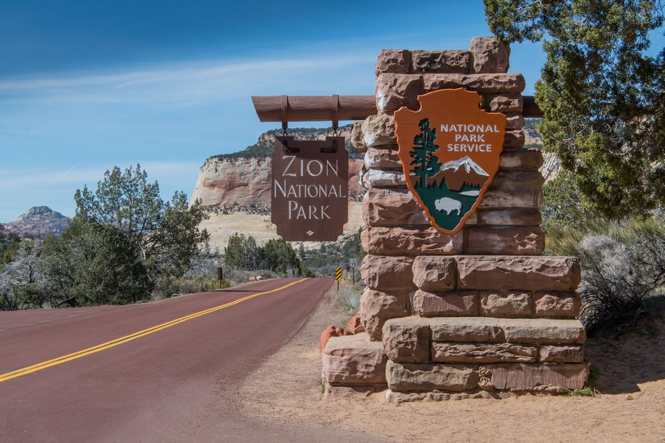 East Entrance to Zion National Park