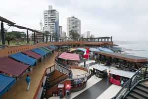 Larcomar Shopping Center in Lima