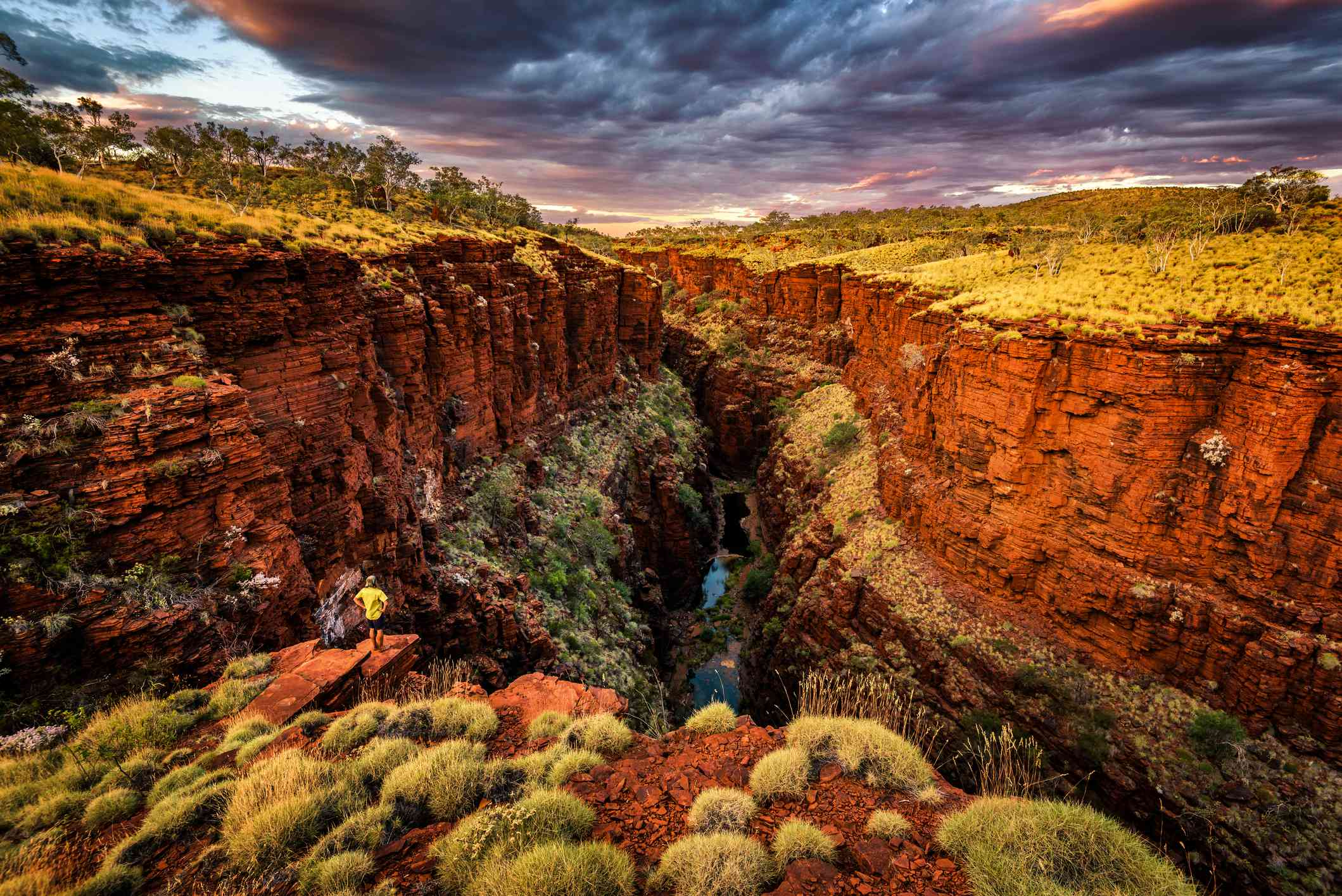 Knox Gorge in Karajini National Park, Western Australia