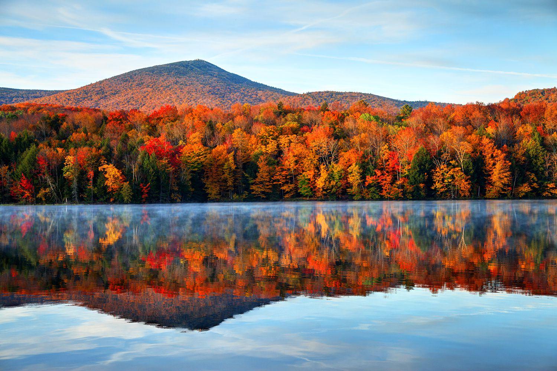New England Fall - Magazine cover