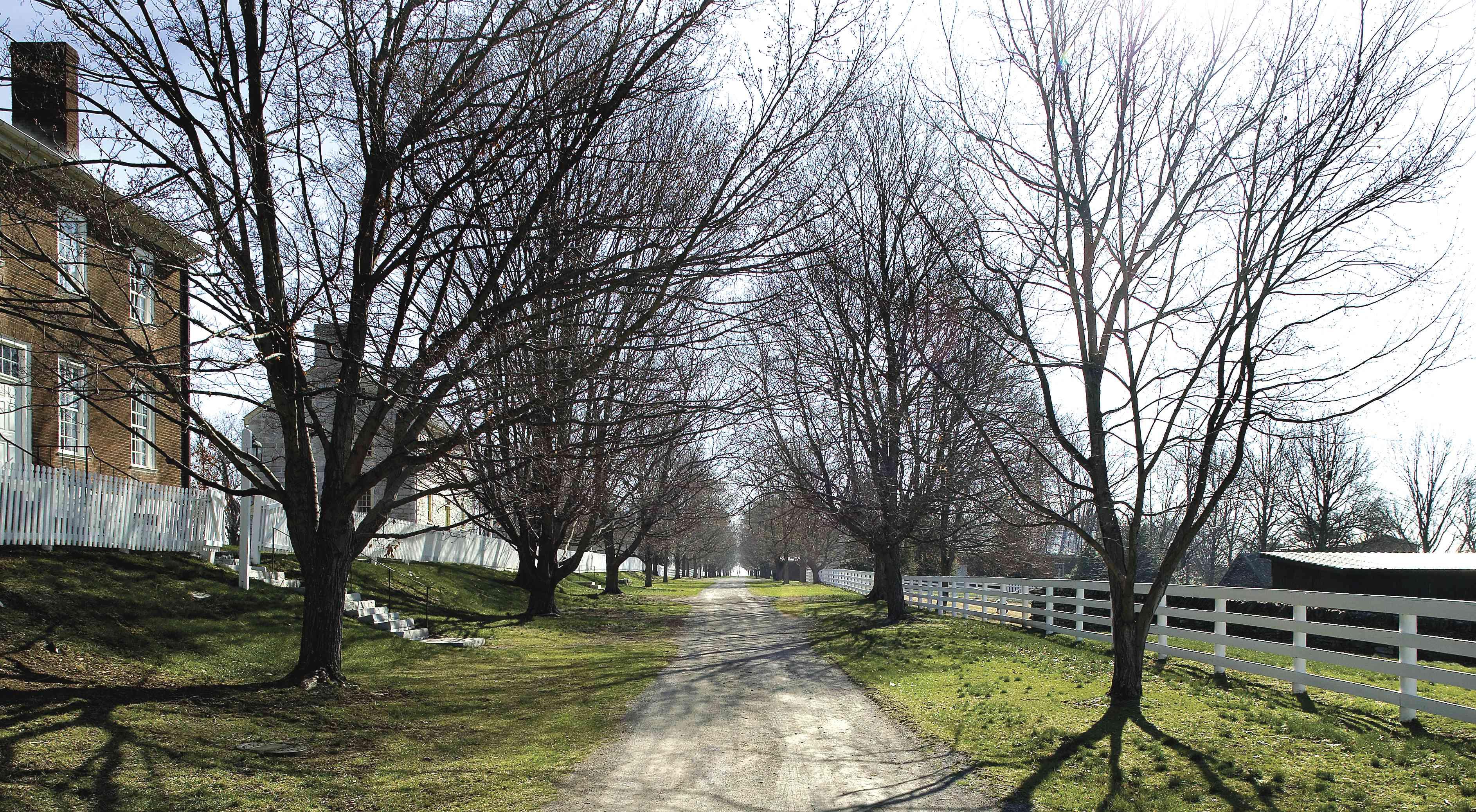 Shaker Village of Pleasant Hill in Kentucky