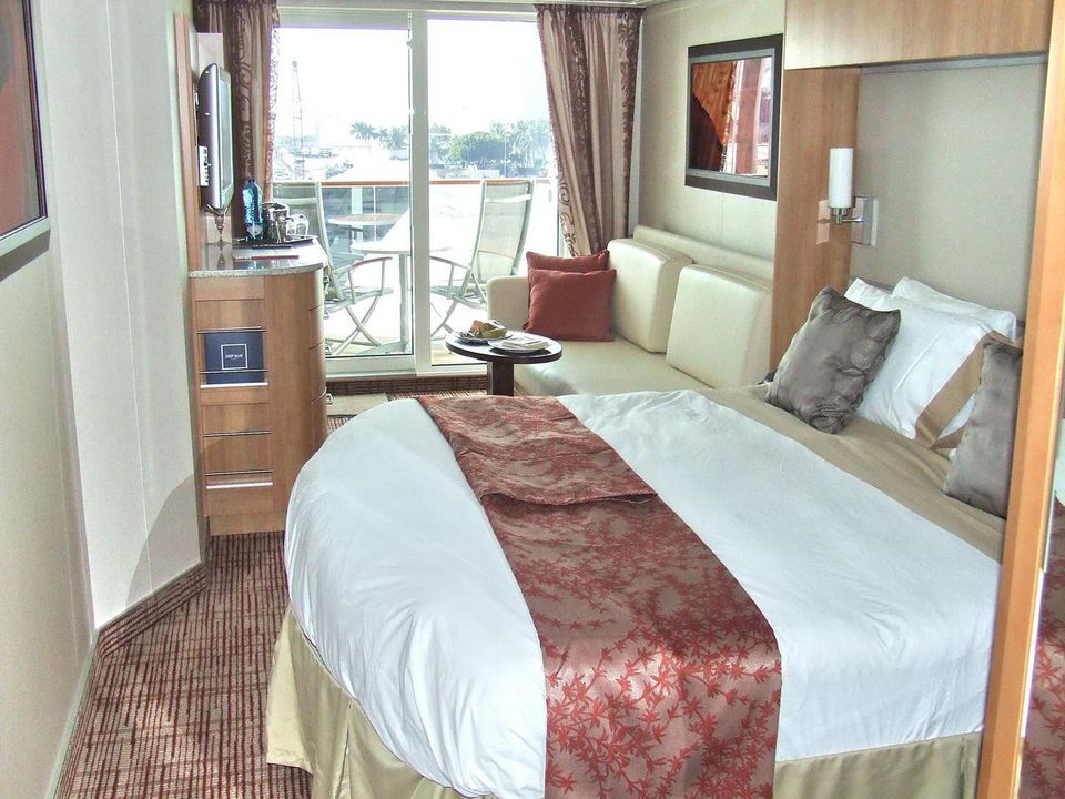 Celebrity Solstice Deluxe Ocean View Cabin with Veranda