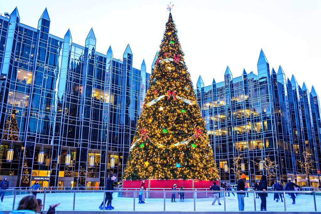 PPG Place Skating Rink