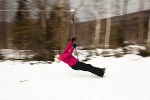 Winter in the White Mountains - Bretton Woods Canopy Tour