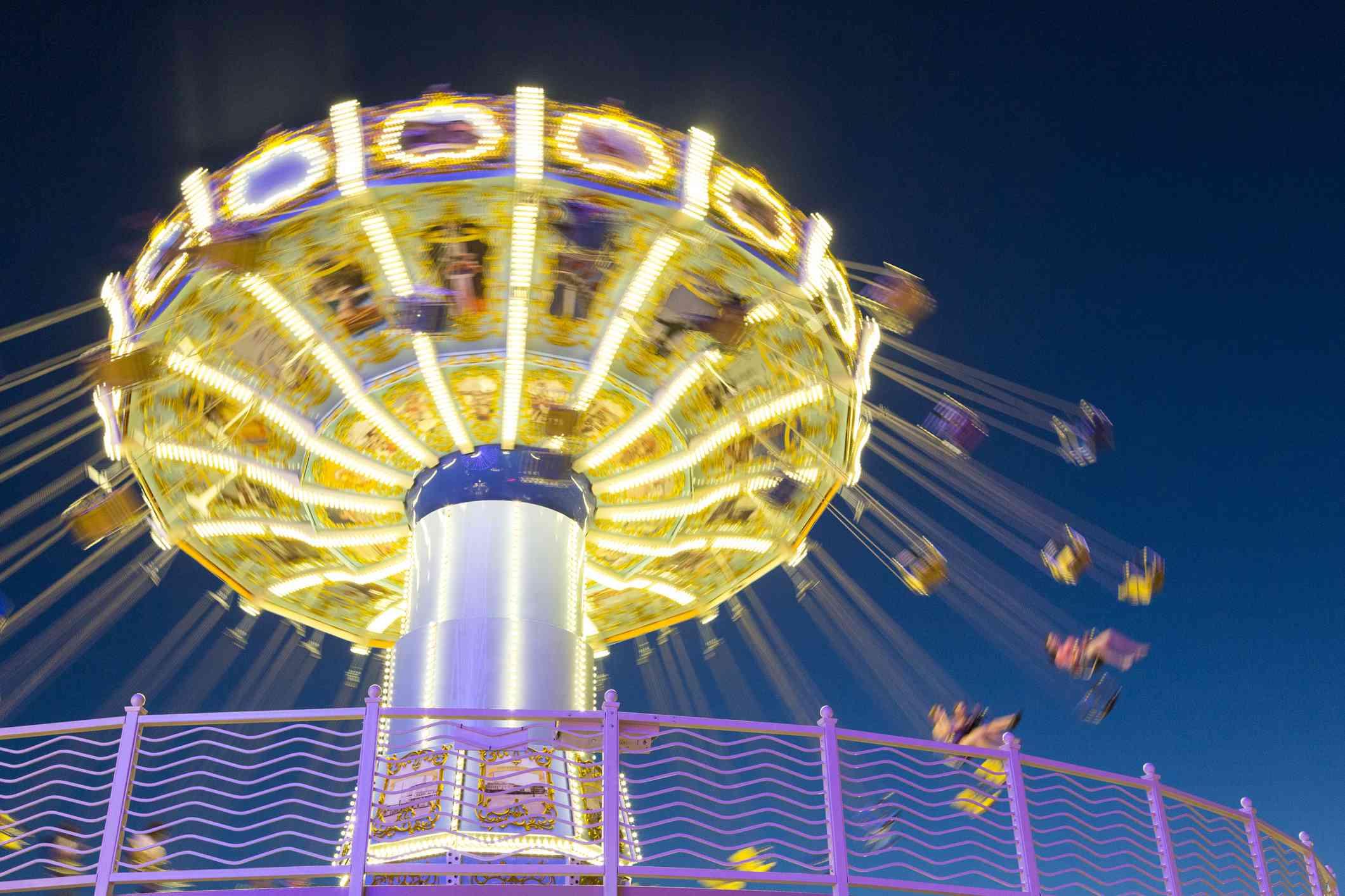 Wildwood, NJ boardwalk amusement park