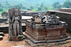 Buddhist site at Udayagiri, Odisha.