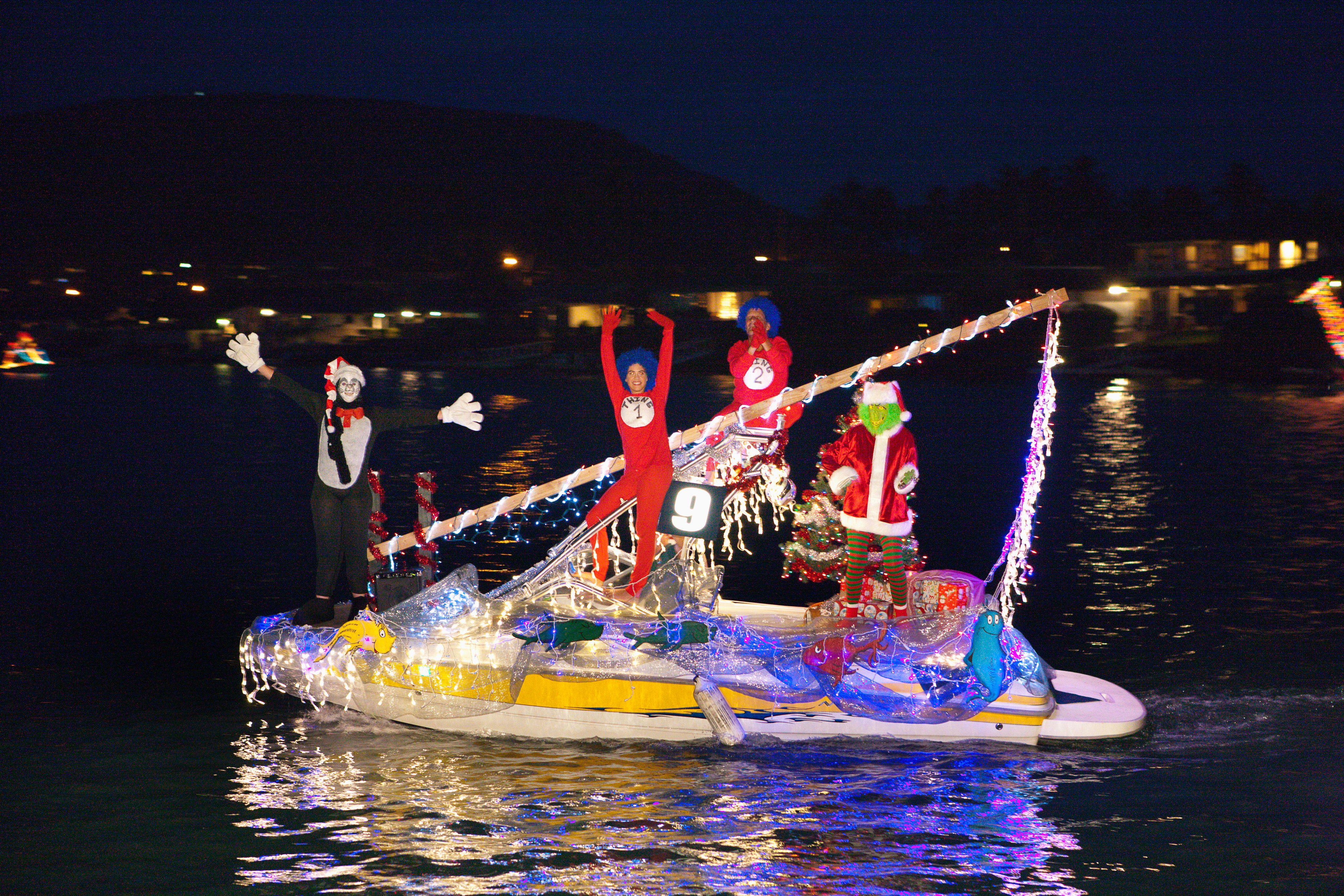 Festival of Light Boat Parade