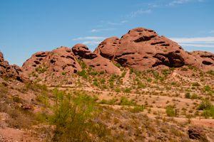 Papago Mountain in Phoenix, Arizona