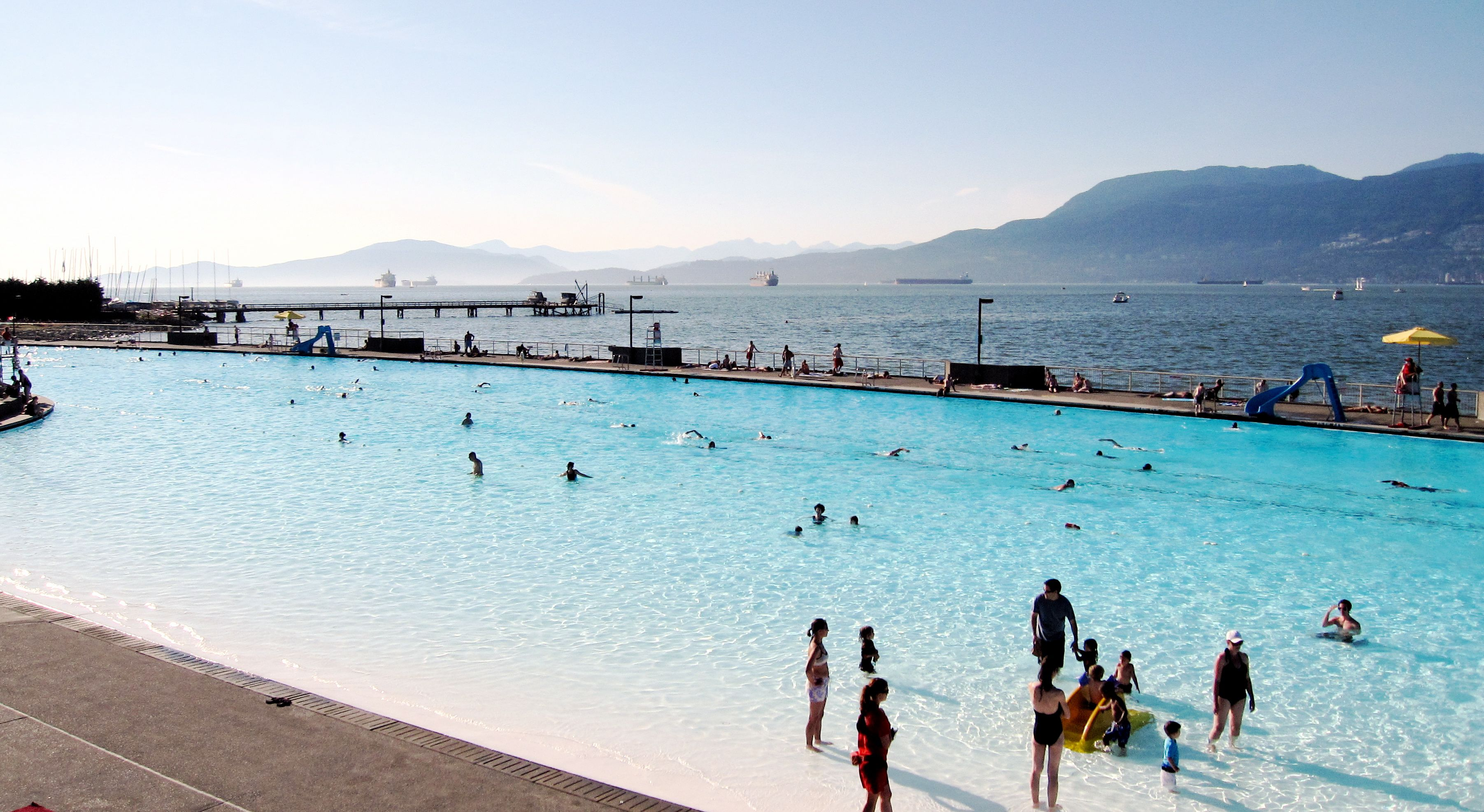 Kits Pool in Vancouver, BC