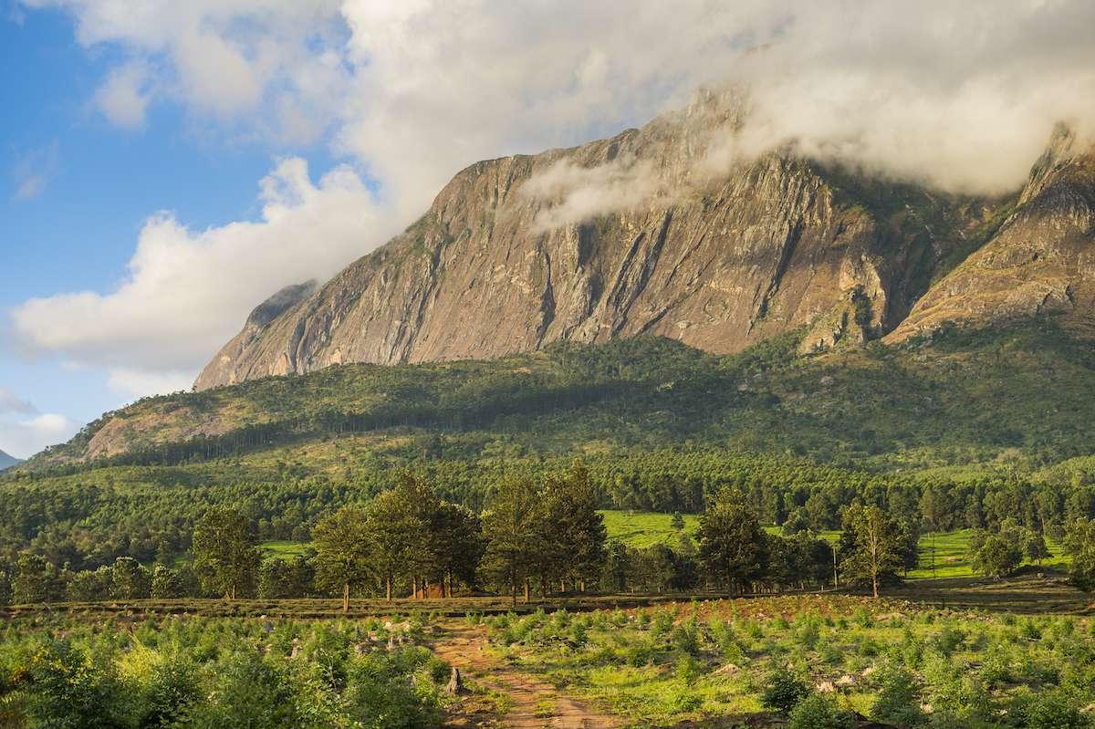 Mount Mulanje in Malawi