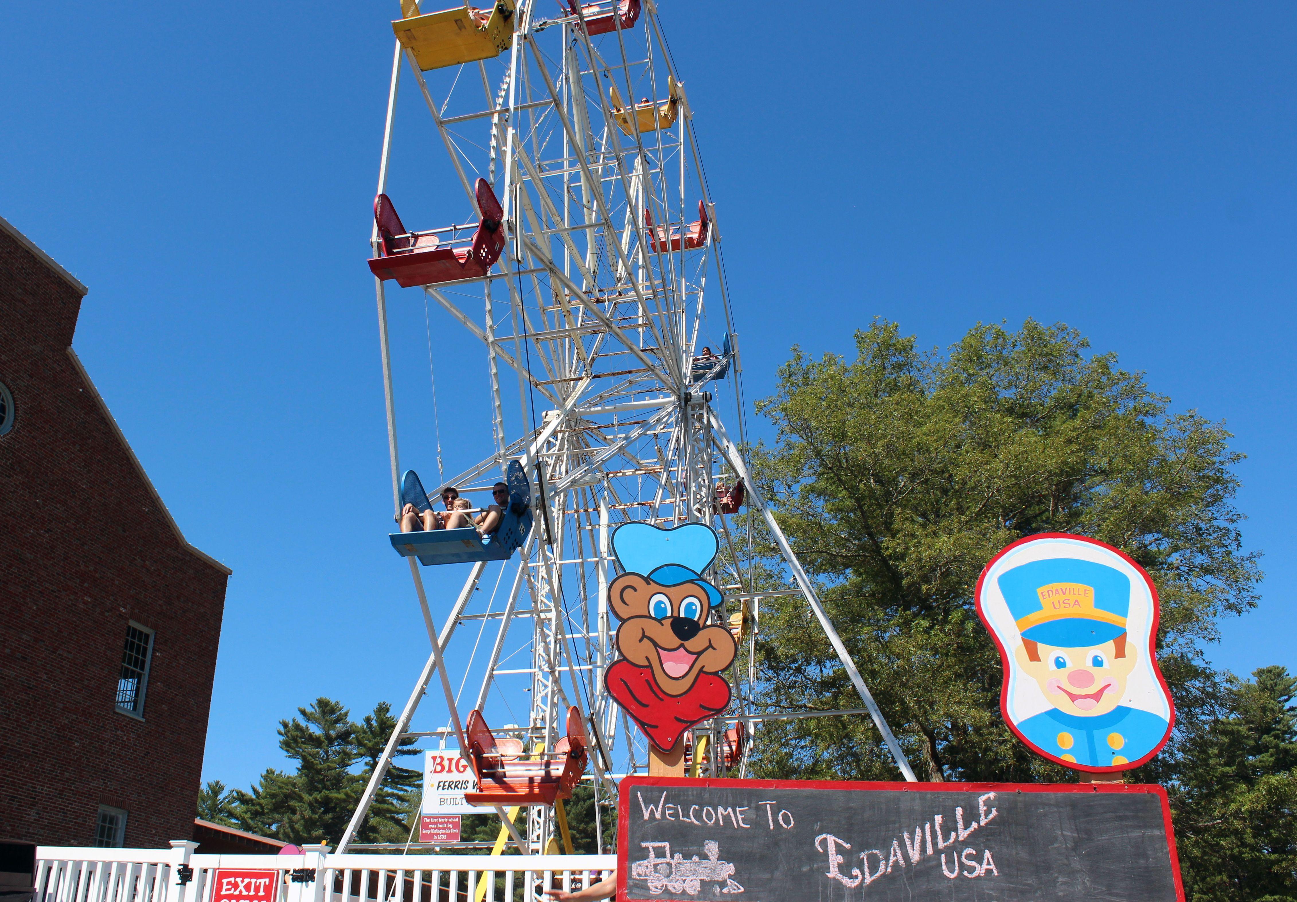 Ferris wheel at Edaville U.S.A.