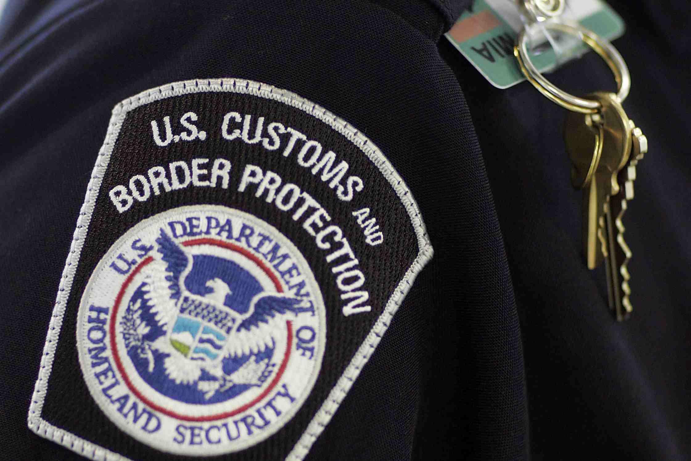 Customs officer badge
