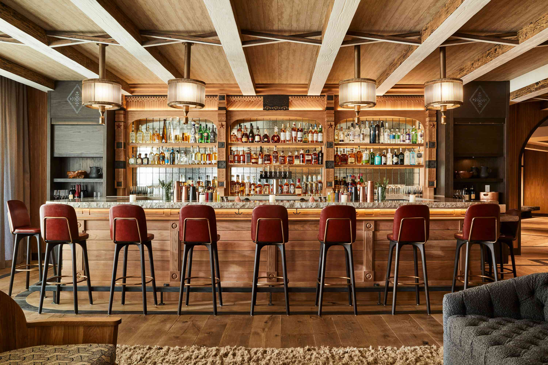 Madeline Hotel & Residences Timber Room