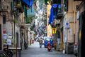 A street in the Spanish Quarters, Naples