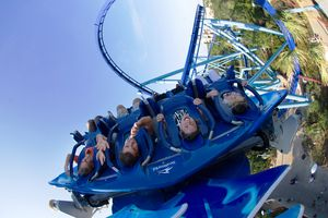 Manta coaster SeaWorld Orlando