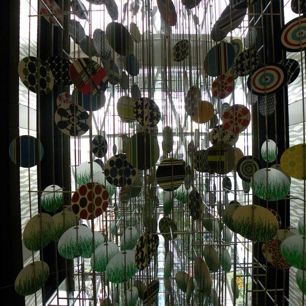 Allure of the Seas - Atrium Artwork