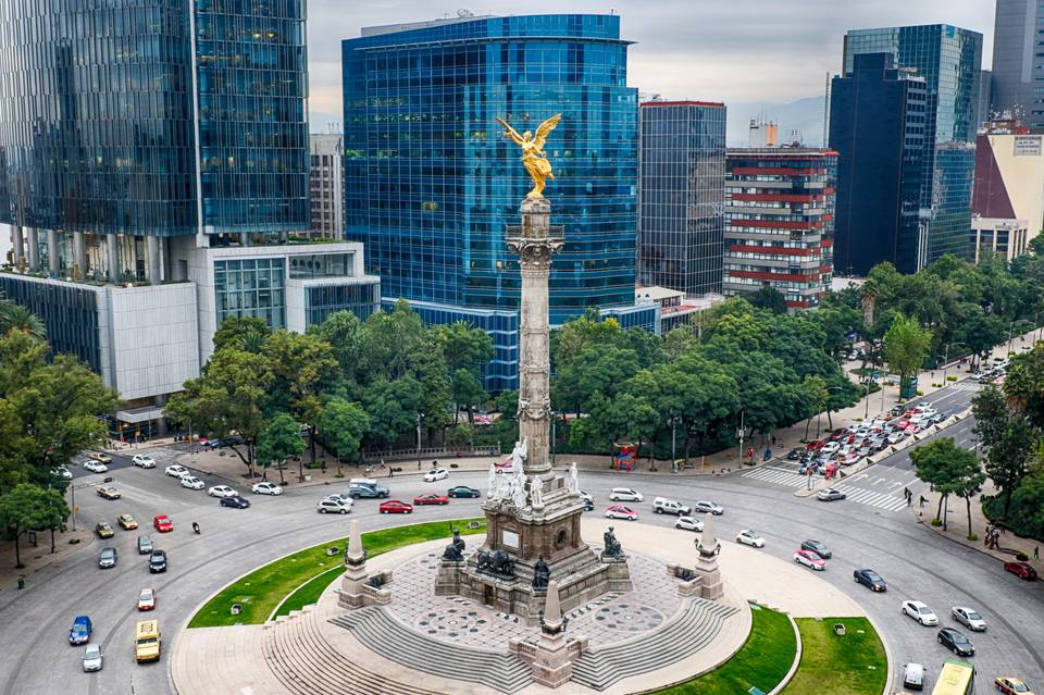 Mexico City's Angel of Independence