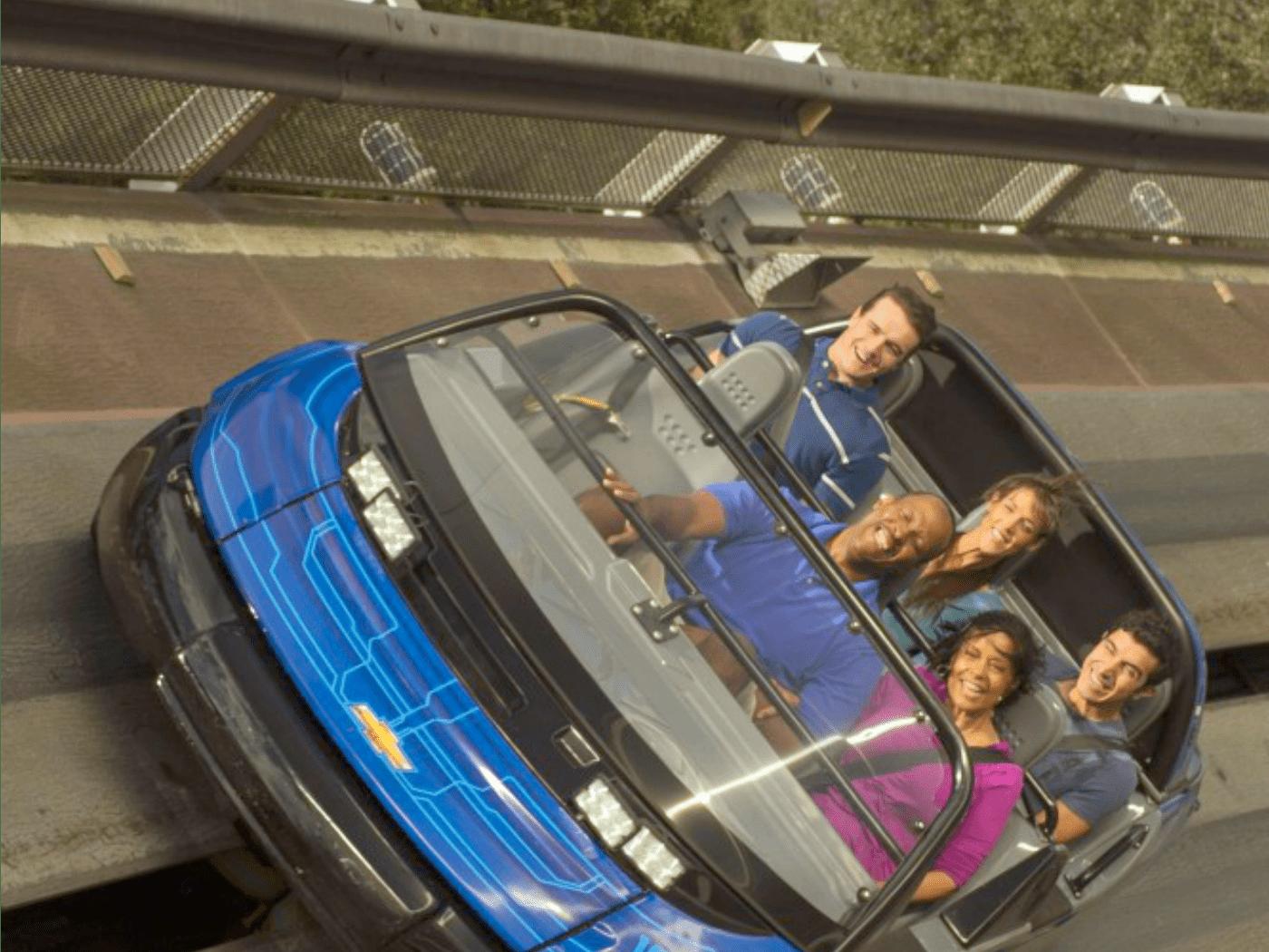 Disney World Epcot Test Track