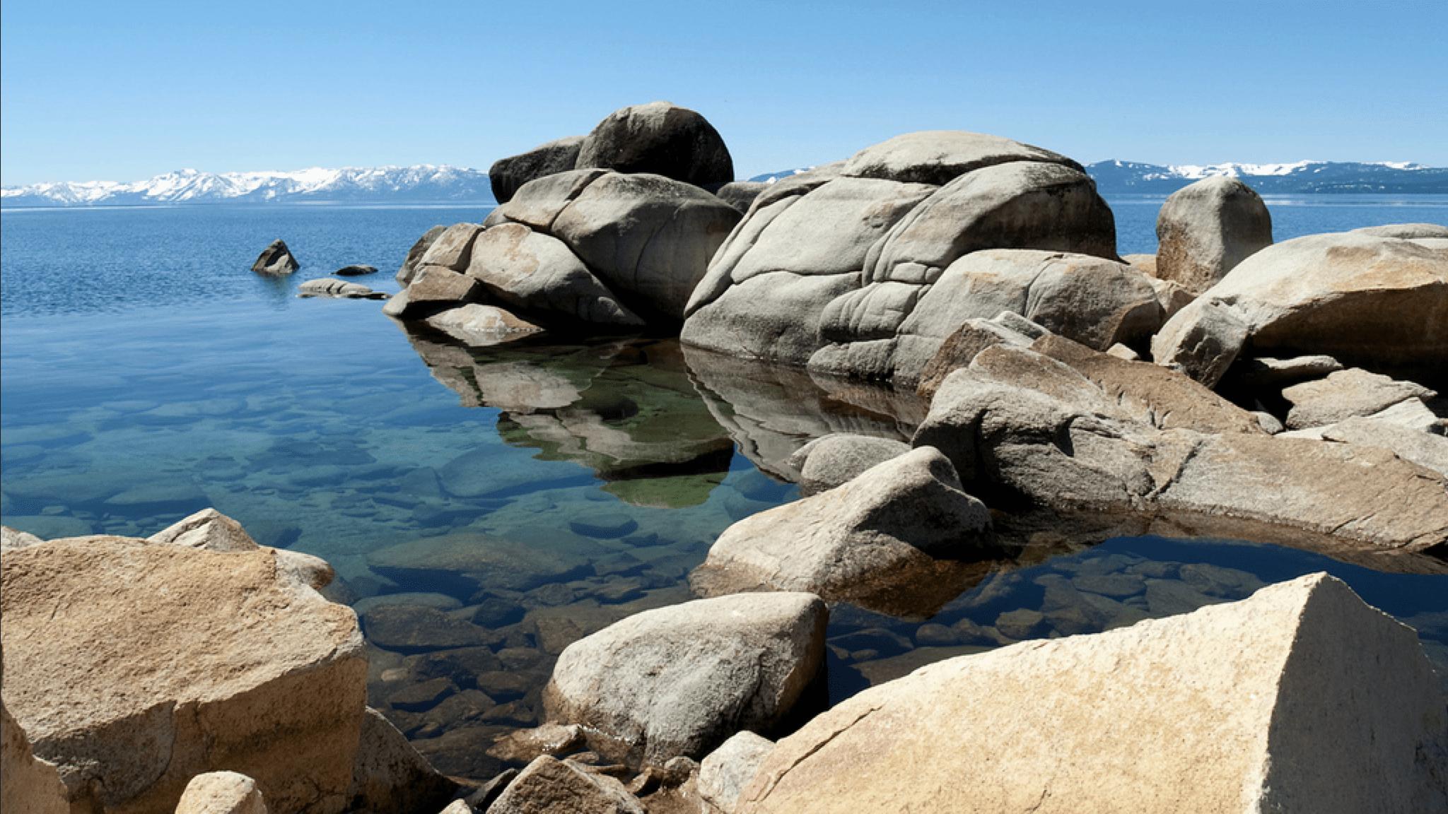 Honeymoon in Lake Tahoe for Outdoors Lovers