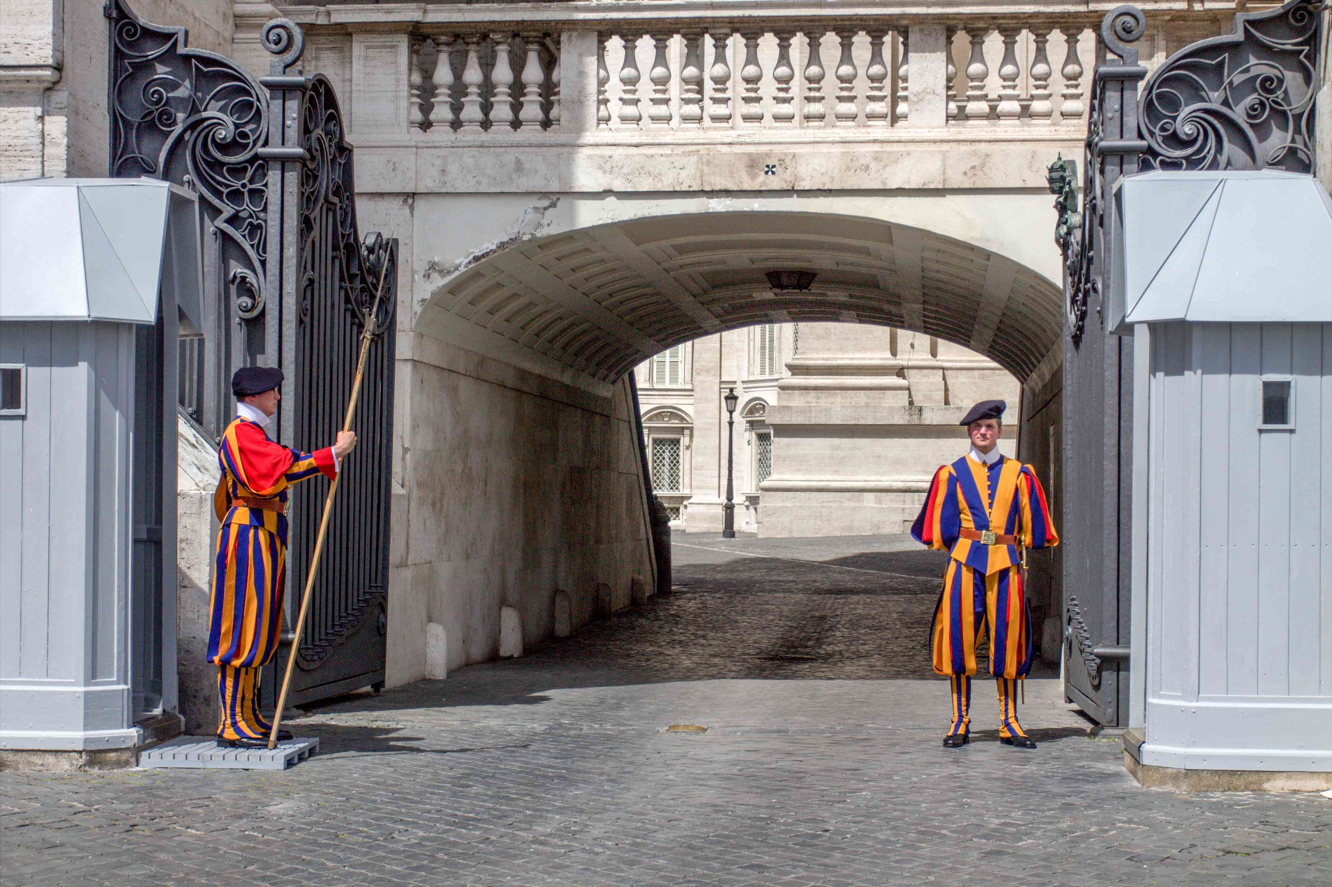 Guards in St Peter's Square