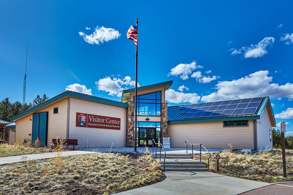 Monumento nacional de camas fósiles de Florissant, Colorado, EE. UU.