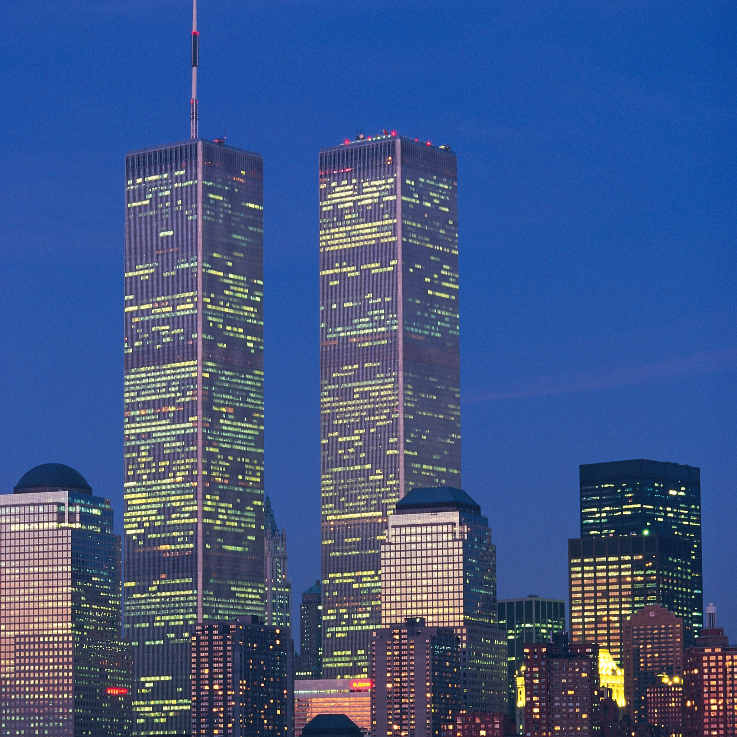 Images of the World Trade Center, 1970-2001