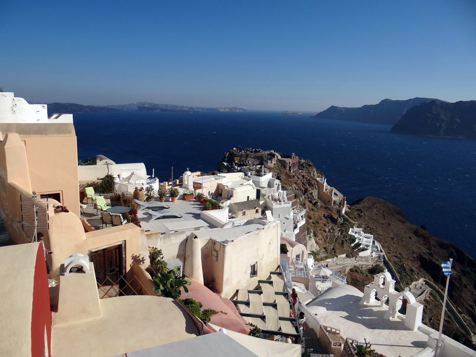 Village of Oia on the Greek island of Santorini