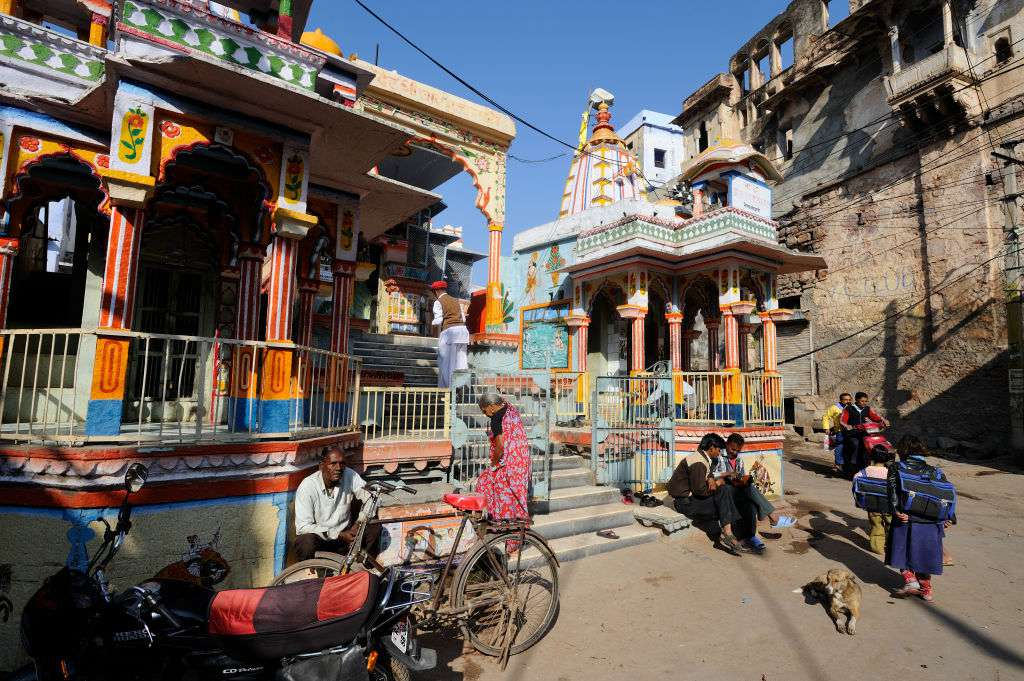 Bundi Old City, Charbhuja temple.