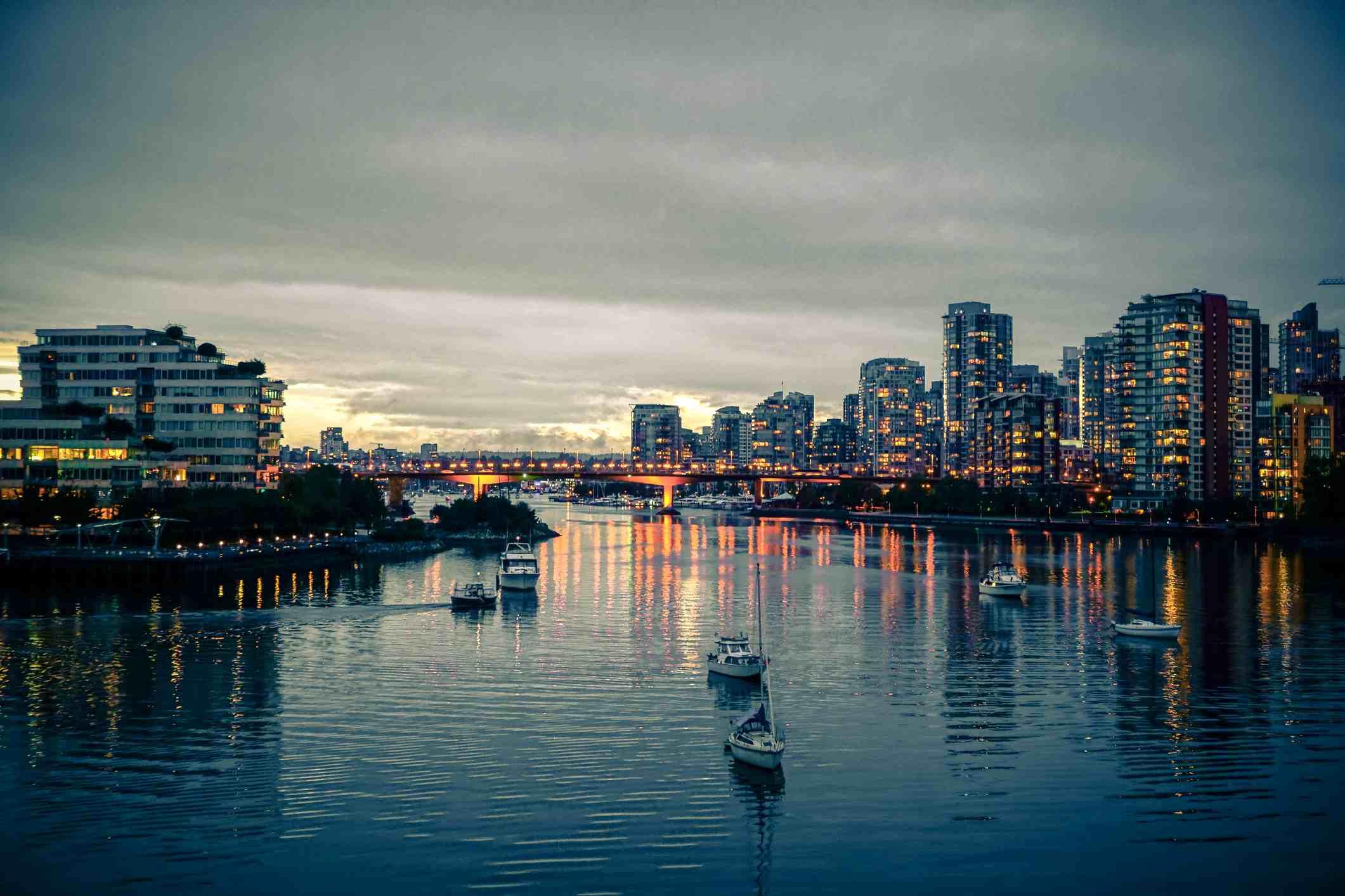 False Creek, Vancouver