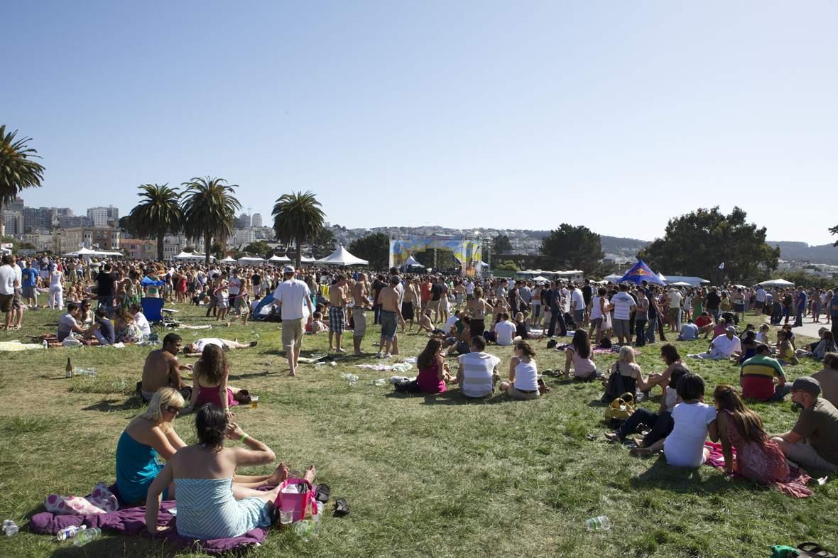 Outdoor Festival at Golden Gate Park