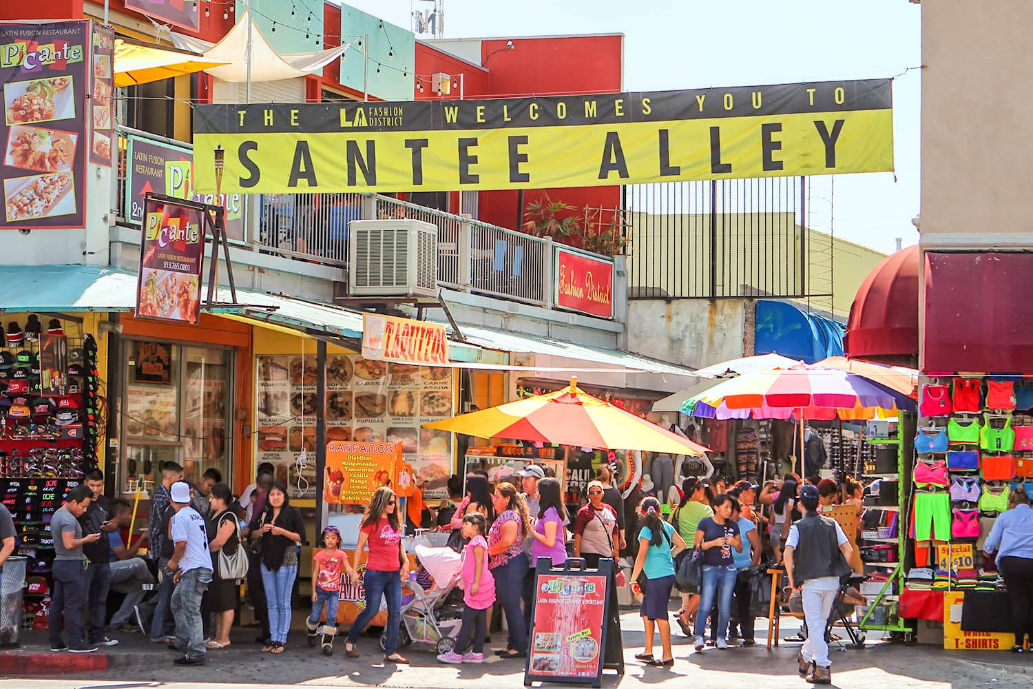 Guide to the Los Angeles Fashion District (Garment District)