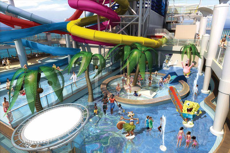 Norwegian Cruise Line Nickelodeon Aqua park
