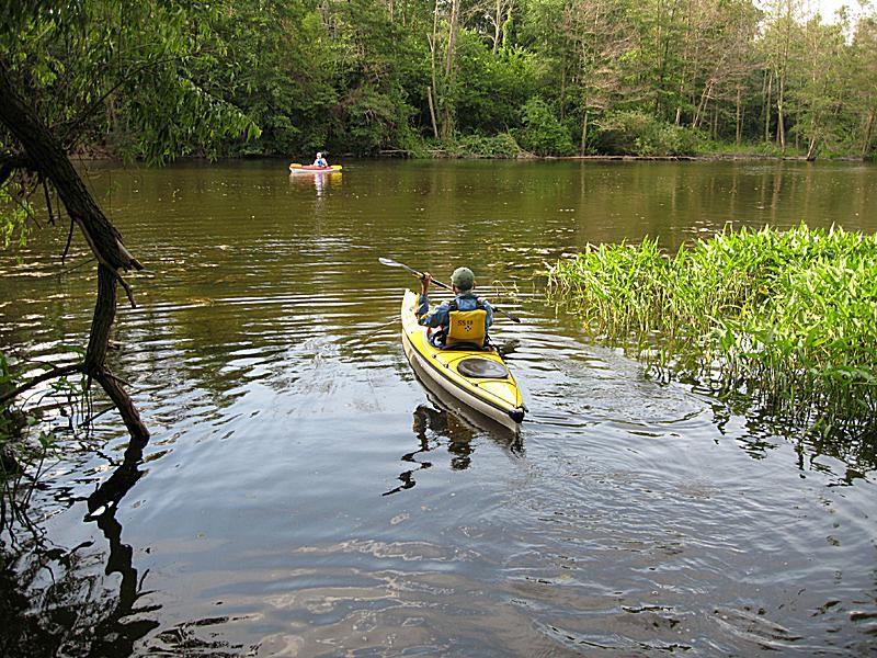 Kayaking in Michigan