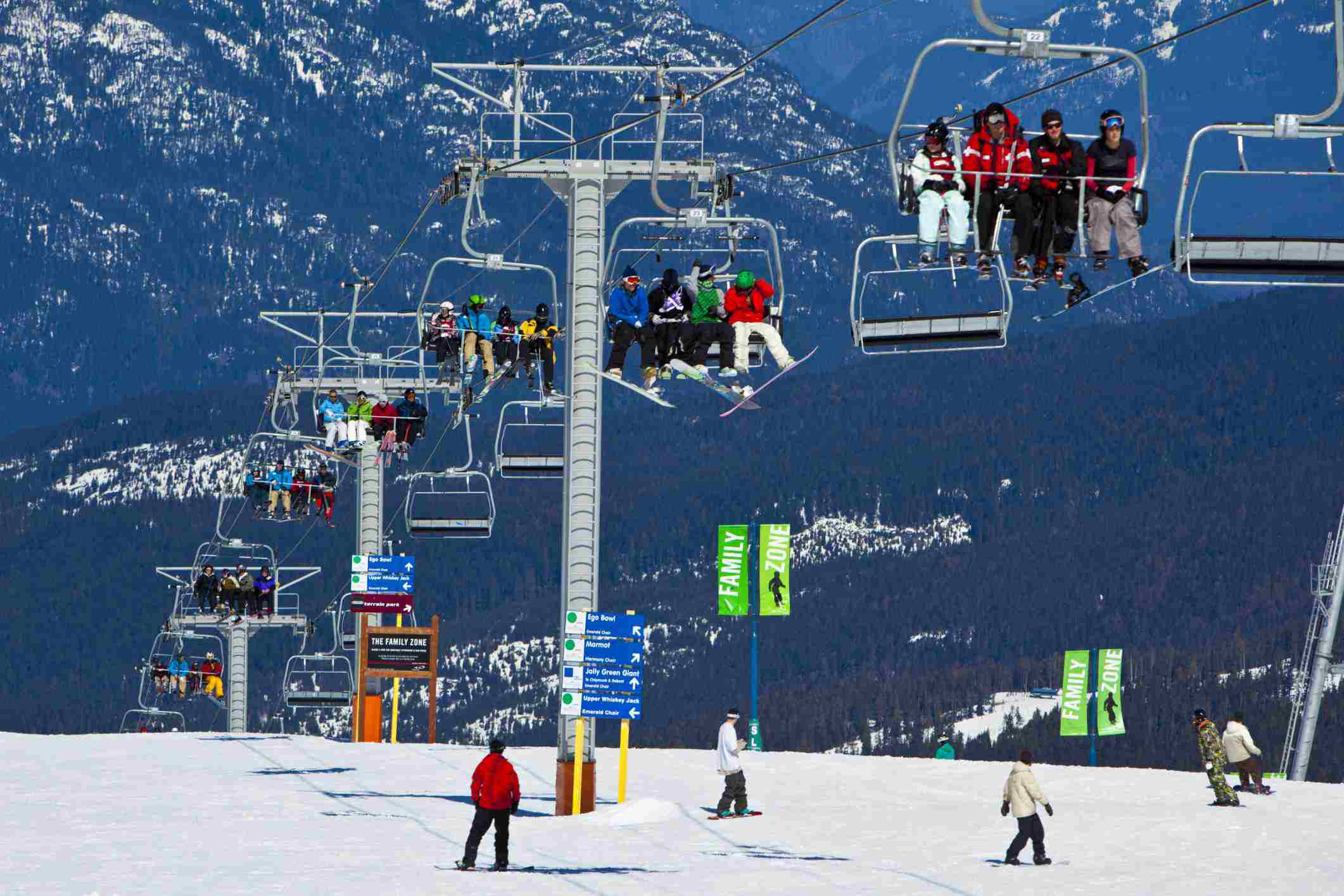 skiing and snowboarding near vancouver