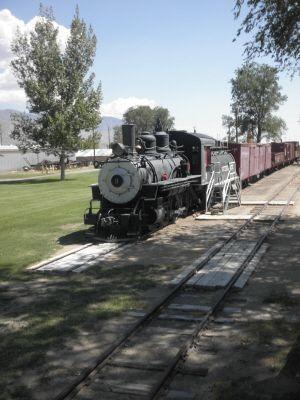 Slim Princess, Locomotive No. 9, at the Laws Railroad Museum