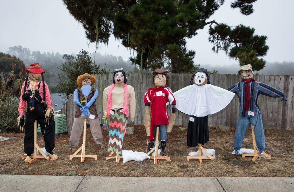 l Halloween Scarecrow Festival, Cambria, CA