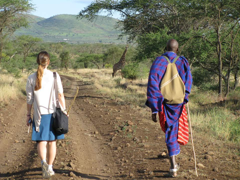 Walking safari with Maasai, northern Tanzania