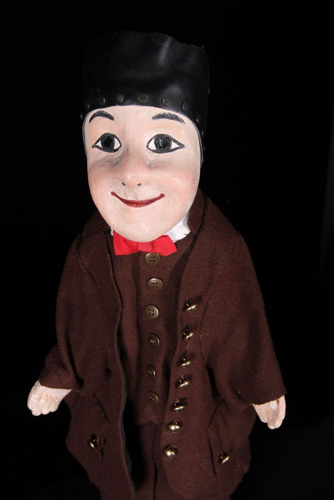 Guignol, the iconic hand puppet of Lyon