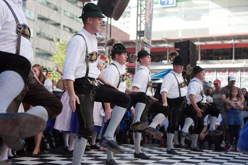 Dancers perform at Oktoberfest Zinzinnati