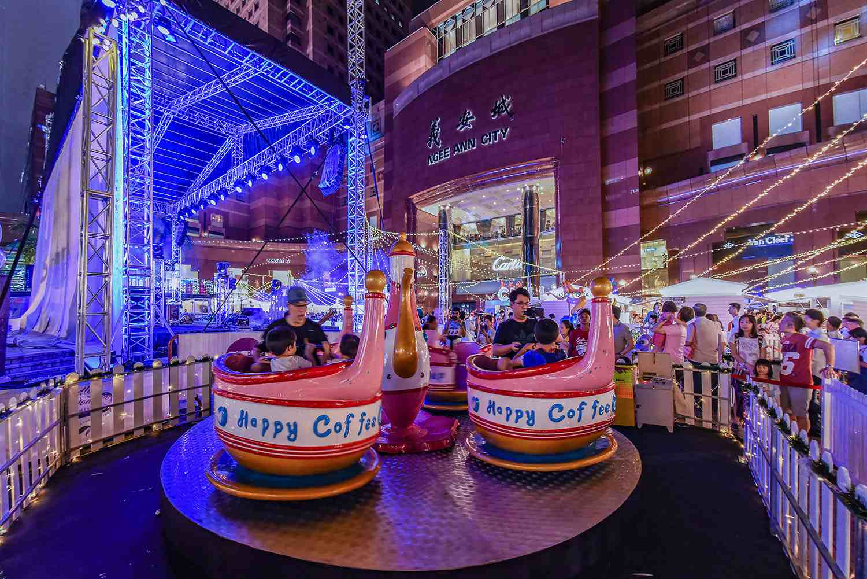 Christmas Light-Ups on Orchard Road