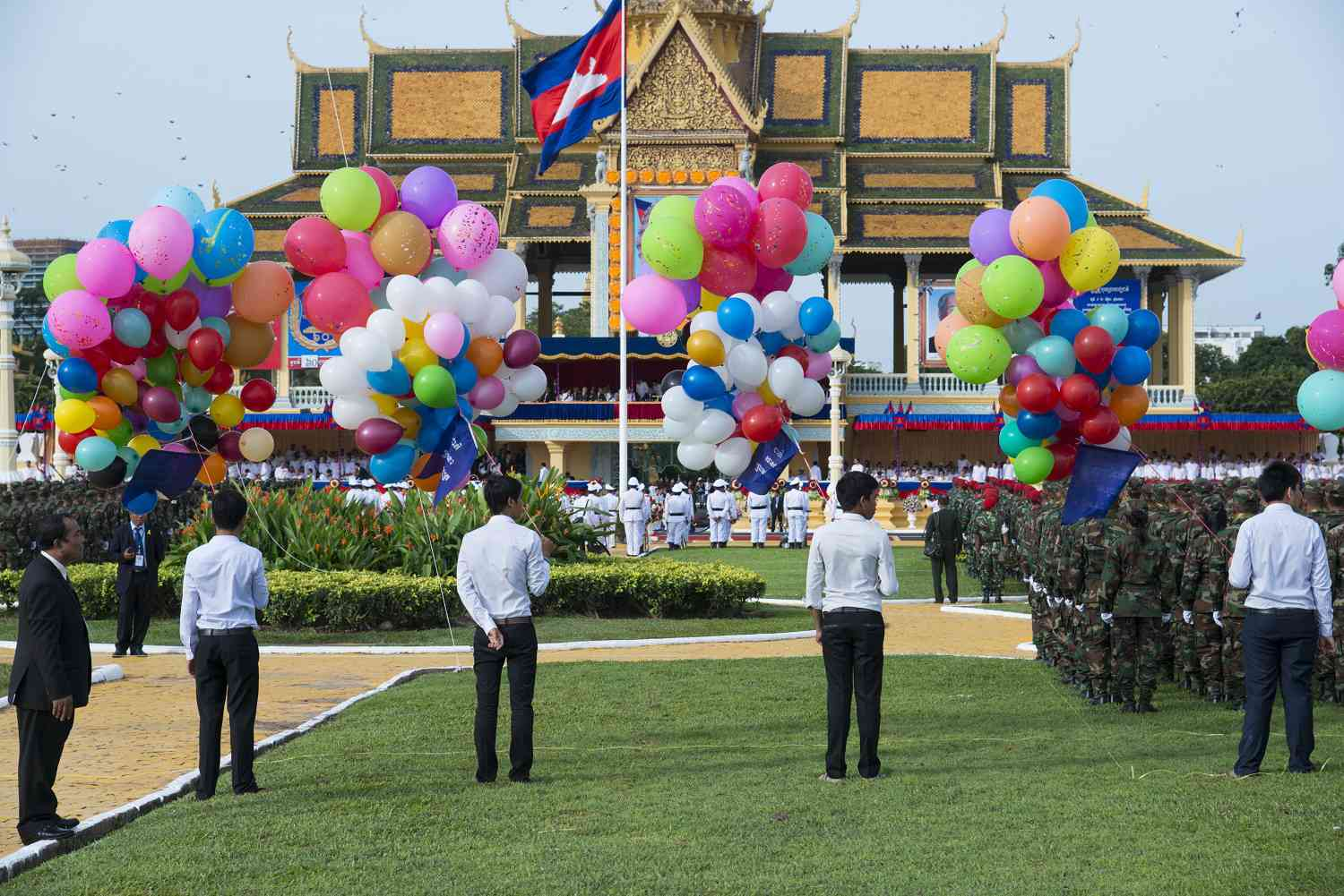 Independence Day celebrations in Cambodia