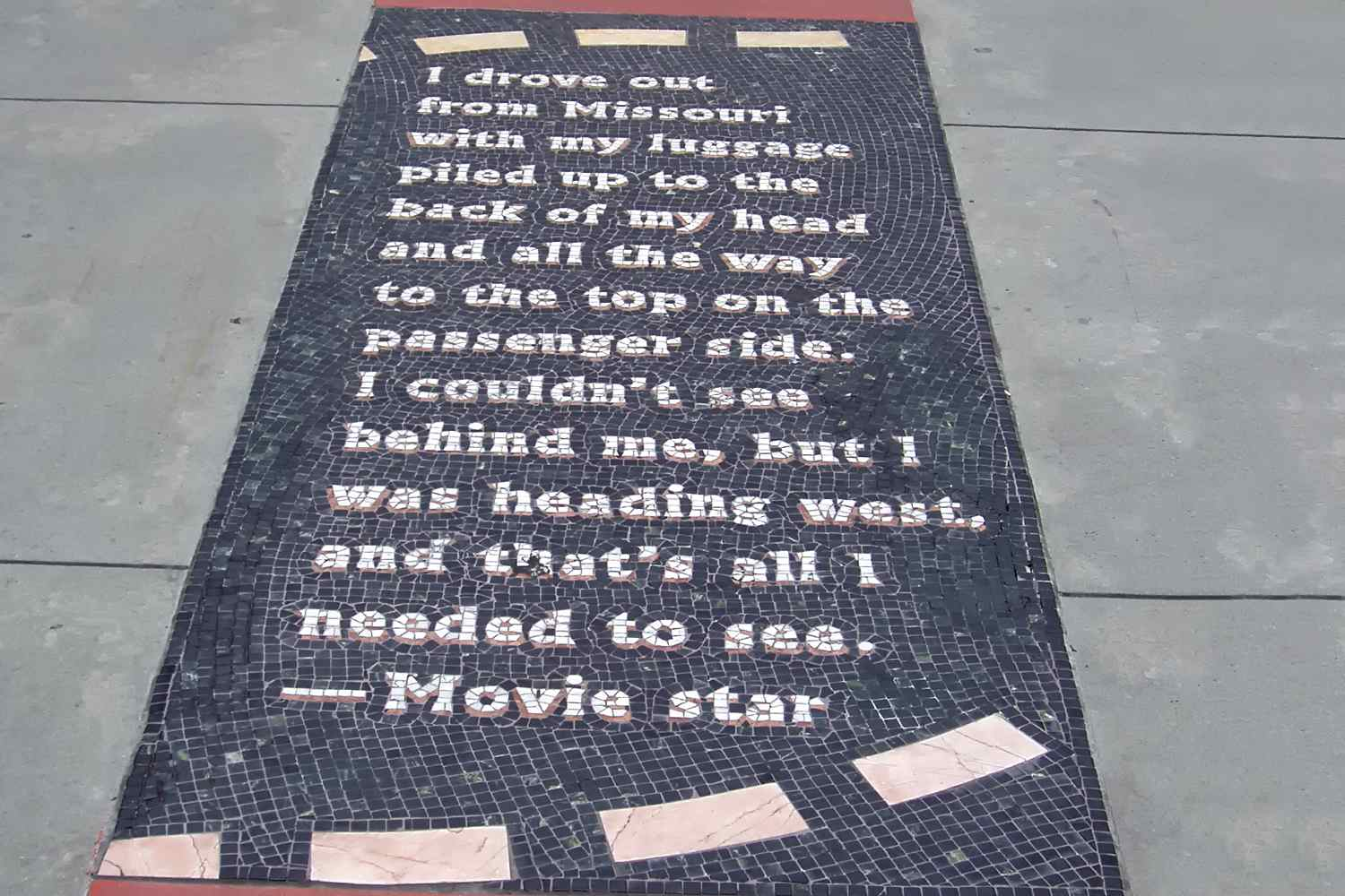 A Movie Star's Story at Hollywood and Highland
