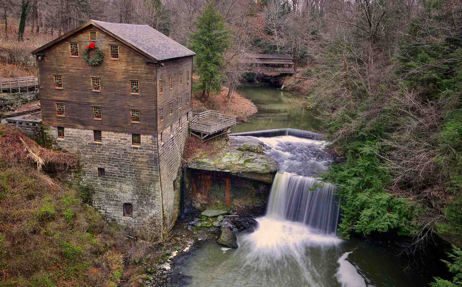 Lanterman's Mill near Youngstown without watermark